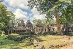 Αρχαίος ναός σύνθετο Banteay Kdei Στοκ Εικόνες