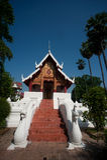 αρχαίος ναός Ταϊλανδός εκκλησιών Στοκ φωτογραφίες με δικαίωμα ελεύθερης χρήσης