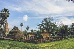 αρχαίος ναός Ταϊλανδός Στοκ Εικόνα