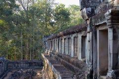 Αρχαίος ναός Angkor Wat, Καμπότζη Στοκ φωτογραφία με δικαίωμα ελεύθερης χρήσης