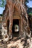 αρχαίος ναός preah angkor σύνθετος khan Στοκ Εικόνες