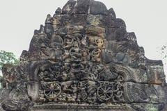 Αρχαίος ναός Preah Khan σε Angkor η Καμπότζη συγκεντρώνει siem Στοκ φωτογραφία με δικαίωμα ελεύθερης χρήσης