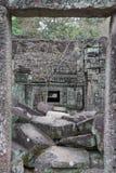 Αρχαίος ναός Preah Khan σε Angkor η Καμπότζη συγκεντρώνει siem Στοκ φωτογραφίες με δικαίωμα ελεύθερης χρήσης