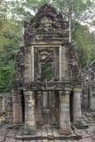 Αρχαίος ναός Preah Khan σε Angkor η Καμπότζη συγκεντρώνει siem Στοκ Φωτογραφία