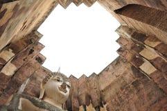 Αρχαίος ναός - Sukhothai Στοκ Εικόνες