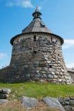 Αρχαίος πύργος μοναστηριών Στοκ εικόνα με δικαίωμα ελεύθερης χρήσης