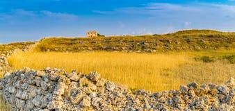 Αρχαίος πύργος στην επαρχία Στοκ φωτογραφίες με δικαίωμα ελεύθερης χρήσης