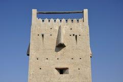 Αρχαίος πύργος στο Ντουμπάι. Στοκ εικόνα με δικαίωμα ελεύθερης χρήσης
