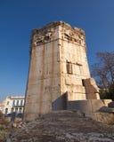 αρχαίος ρωμαϊκός αέρας πύργ Στοκ Εικόνες