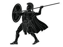 Αρχαίος ρωμαϊκός πολεμιστής στοκ εικόνες με δικαίωμα ελεύθερης χρήσης