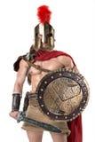Αρχαίος στρατιώτης ή Gladiator Στοκ Εικόνα