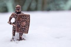 αρχαίος στρατιώτης Στοκ Εικόνα