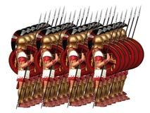 αρχαίος στρατός Στοκ Εικόνα