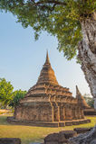Αρχαίος ταϊλανδικός ναός Στοκ φωτογραφίες με δικαίωμα ελεύθερης χρήσης