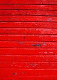 αρχαίος τοίχος αποφλοίωσης χρωμάτων ανασκόπησης ξύλινος Στοκ Εικόνες