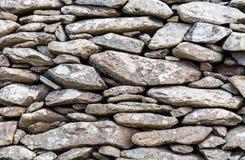 Αρχαίος τοίχος πετρών στην Ιρλανδία Στοκ φωτογραφία με δικαίωμα ελεύθερης χρήσης