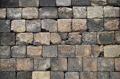 αρχαίος τοίχος πετρών Στοκ εικόνα με δικαίωμα ελεύθερης χρήσης