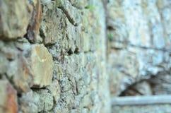 αρχαίος τοίχος πετρών Στοκ Φωτογραφία