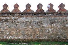 Αρχαίος τοίχος πόλεων της Ταϊλάνδης Στοκ Εικόνα