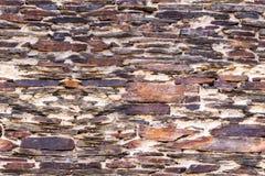 Αρχαίος τοίχος τοιχοποιιών Στοκ εικόνα με δικαίωμα ελεύθερης χρήσης