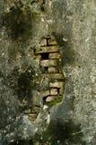 αρχαίος τοίχος Στοκ φωτογραφίες με δικαίωμα ελεύθερης χρήσης