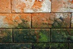αρχαίος τουβλότοιχος Στοκ εικόνα με δικαίωμα ελεύθερης χρήσης
