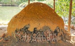 Αρχαίος φούρνος Στοκ Εικόνα