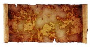 Αρχαίος χάρτης κυλίνδρων ελεύθερη απεικόνιση δικαιώματος