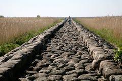 αρχαίος δρόμος Στοκ Φωτογραφία
