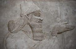 αρχαίος assyrian επικεφαλής πο Στοκ φωτογραφία με δικαίωμα ελεύθερης χρήσης