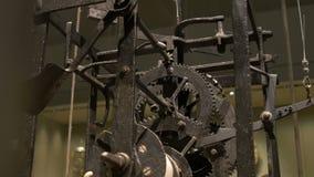 Αρχαίος Cogwheel μηχανισμός απόθεμα βίντεο