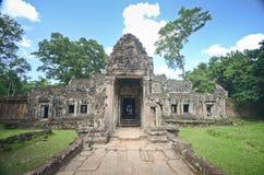 Αρχαίος Khmer ναός σε Angkor Wat, Καμπότζη Στοκ Φωτογραφίες