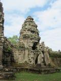 Αρχαίος Khmer ναός σε Angkor Wat Στοκ Εικόνα