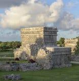αρχαίος mayan ναός Στοκ Φωτογραφίες