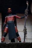 αρχαίος mayan πολεμιστής στοκ εικόνες