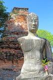 αρχαίο άγαλμα του Βούδα Στοκ φωτογραφίες με δικαίωμα ελεύθερης χρήσης