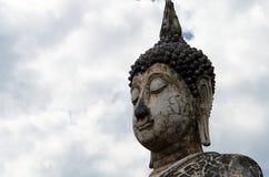 Αρχαίο άγαλμα του Βούδα σε Sukhothai Στοκ Εικόνες