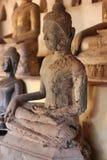 αρχαίο άγαλμα του Βούδα Στοκ Φωτογραφία