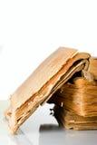 αρχαίο έγγραφο βιβλίων πο& Στοκ Εικόνες