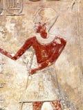 αρχαίο αιγυπτιακό ανάγλ&upsilon Στοκ εικόνα με δικαίωμα ελεύθερης χρήσης
