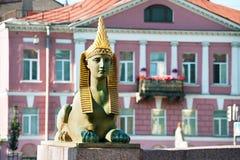 αρχαίο αιγυπτιακό sphinx Στοκ φωτογραφίες με δικαίωμα ελεύθερης χρήσης