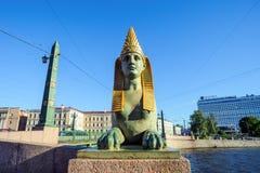 αρχαίο αιγυπτιακό sphinx Στοκ φωτογραφία με δικαίωμα ελεύθερης χρήσης