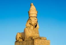 αρχαίο αιγυπτιακό sphinx Στοκ εικόνα με δικαίωμα ελεύθερης χρήσης