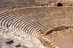 Αρχαίο αμφιθέατρο Στοκ εικόνες με δικαίωμα ελεύθερης χρήσης