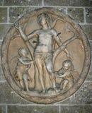 αρχαίο ανάγλυφο bas Στοκ Εικόνες