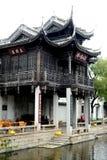 Αρχαίο αρχιτεκτονικό ύφος κινέζικα Στοκ φωτογραφία με δικαίωμα ελεύθερης χρήσης