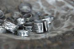 αρχαίο δαχτυλίδι Στοκ φωτογραφία με δικαίωμα ελεύθερης χρήσης
