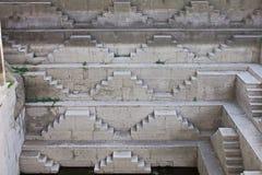 Αρχαίο βήμα Ινδός καλά Στοκ Φωτογραφίες
