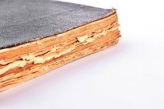 Αρχαίο βιβλίο στο άσπρο υπόβαθρο Στοκ φωτογραφία με δικαίωμα ελεύθερης χρήσης