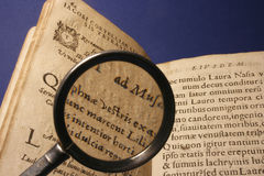 αρχαίο βιβλίο Στοκ φωτογραφίες με δικαίωμα ελεύθερης χρήσης